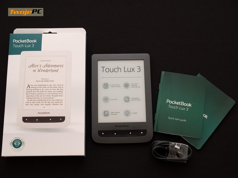 Test PocketBook Touch Lux 3 - w pogoni za papierem