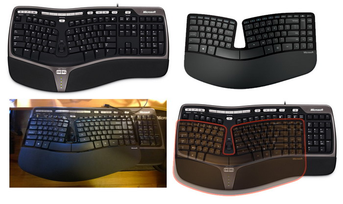 Microsoft Sculpt: Ergonomic Keyboard Comfort Desktop