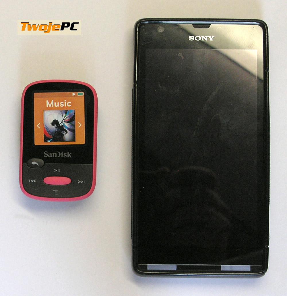 Muzyka na wynos: Test SanDisk Clip Sport MP3 player