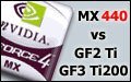 Test układu GeForce4 MX440 kontra GF2 Ti i GF3 Ti200